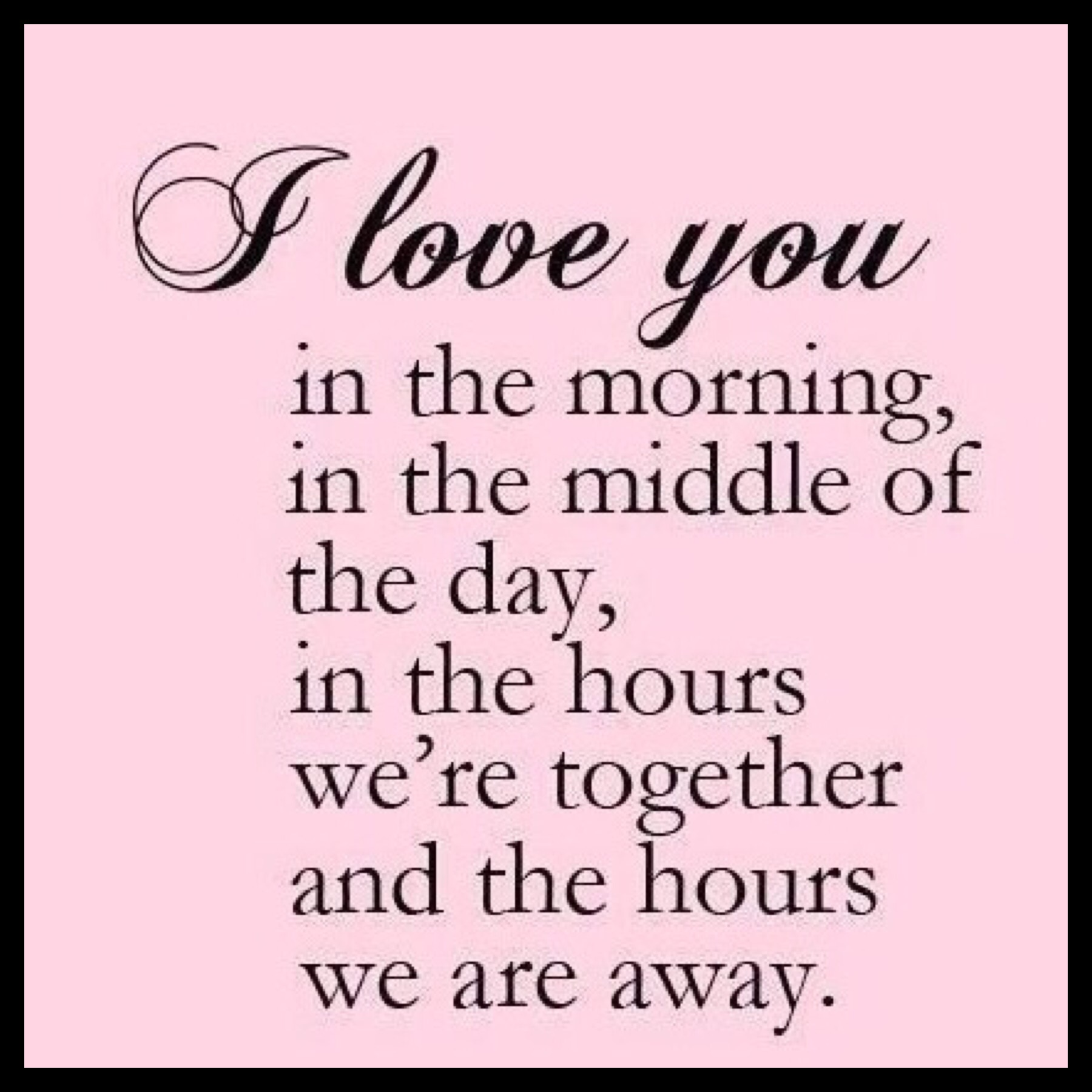 jeg savner min kæreste